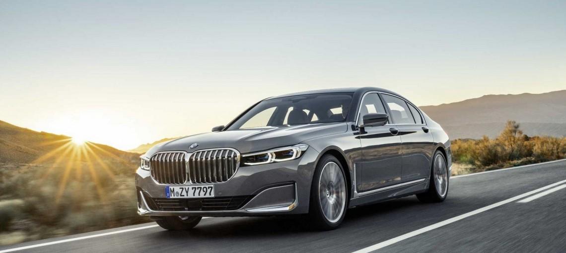 Новий BMW 7 серії.